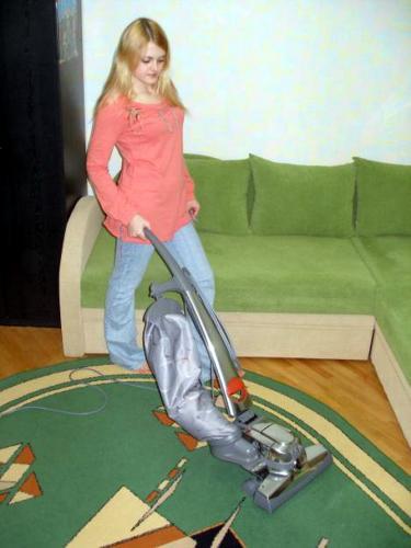 Чистка ковра кирби